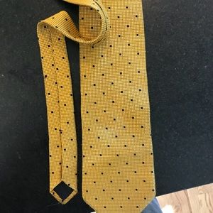 Brooks Brothers Yellow Tie